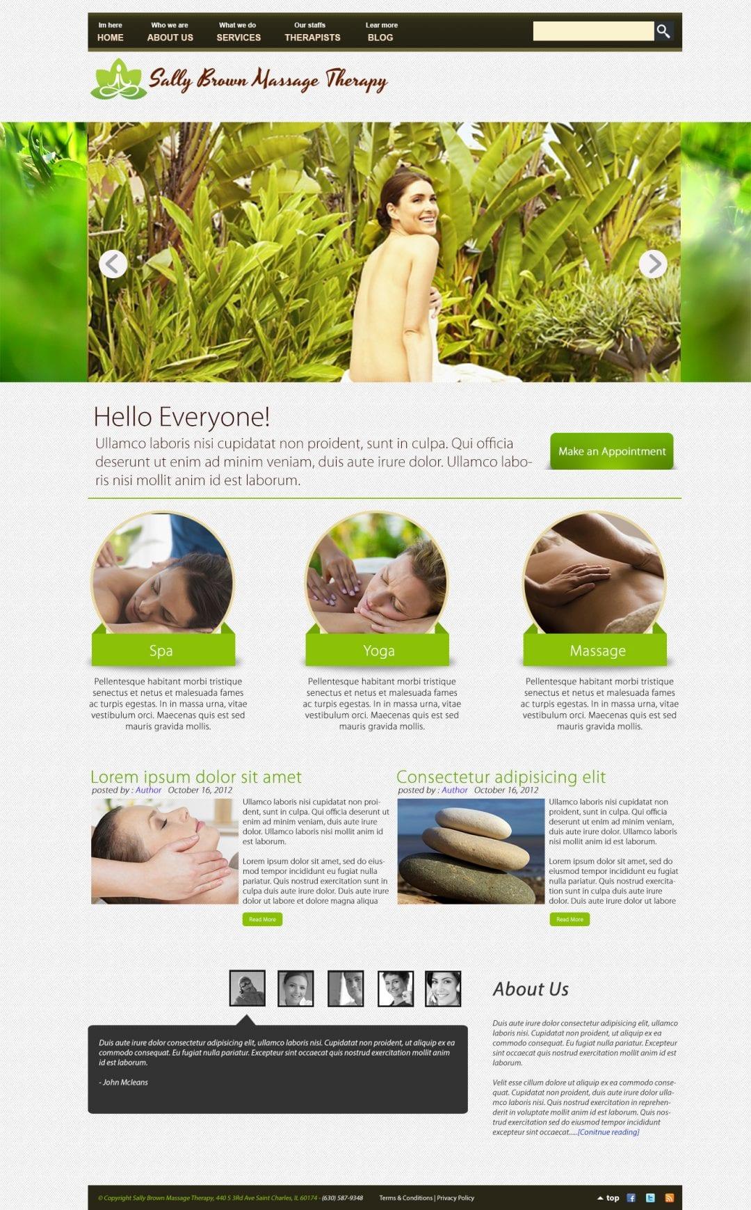 Sally Brown Massage